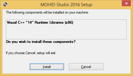 MOHID Studio - Installation Guide - 2016 - Action Modulers Wiki